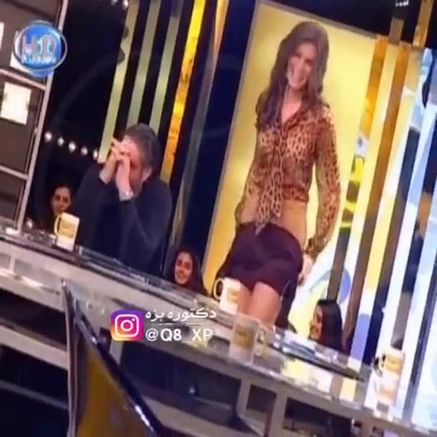 لبنان,تشلح,بنت,فيديو,تلفزيون,تفصخ,لبنانية