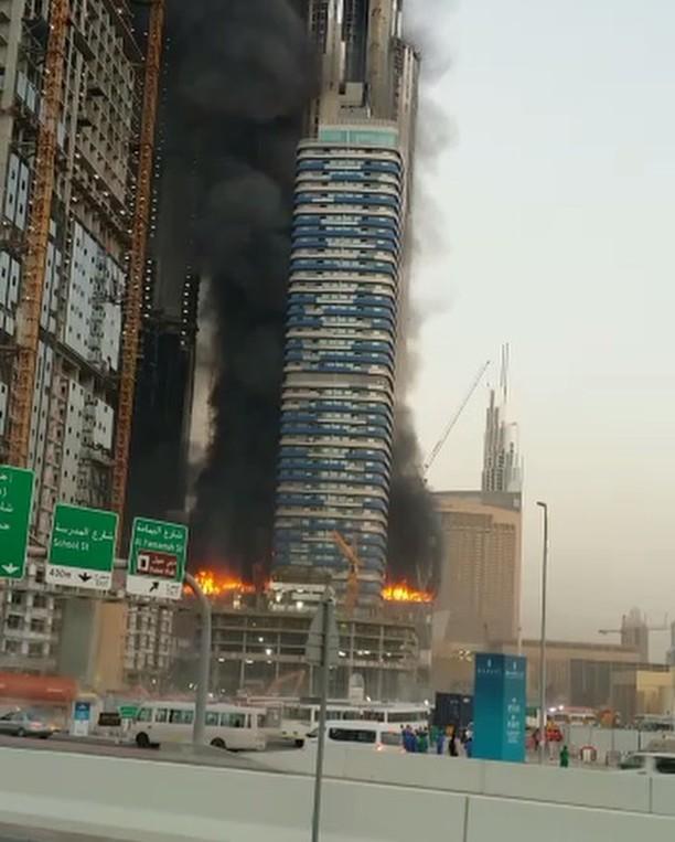 حريق,الامارات,دبي